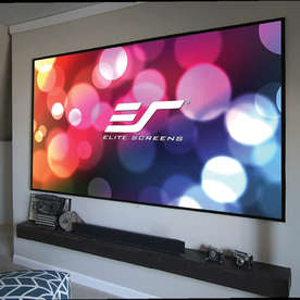 "Екран за проектор Elite Screen Aeon AR100DHD3, 100"" (16:9), 223.7x124.9 см., CineGrey 3D, с рамка, EDGE FREE"