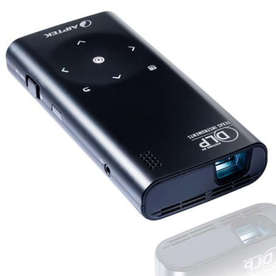 LED проектор Aiptek Pocketcinema V60. Спрян